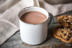 Cana cu lapte cu ciocolata