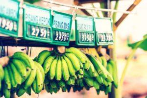 Manunchiuri de banane verzi.
