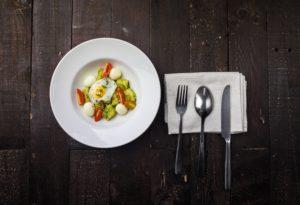 Ou prăjit cu avocado