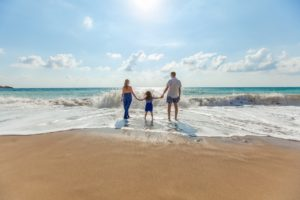 Familie la plaja