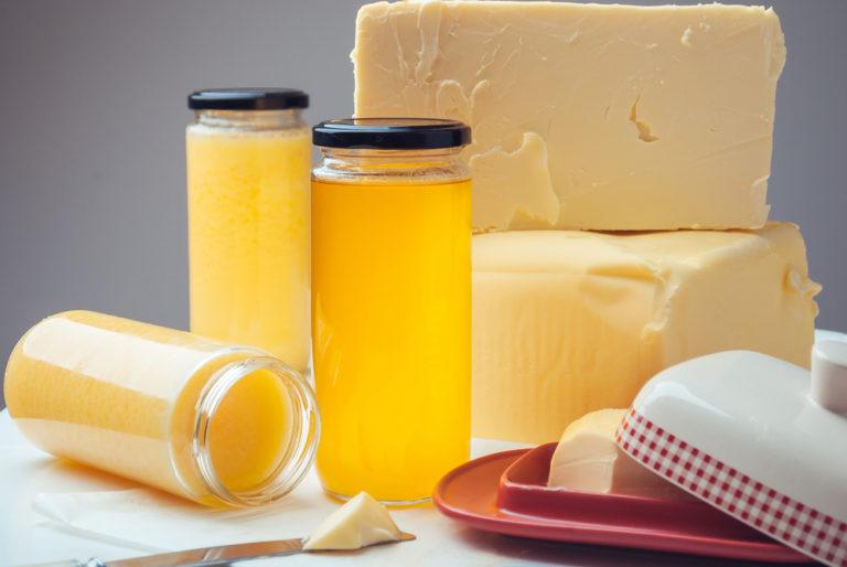 Atât ghee-ul cât și untul pot face parte dintr-o alimentație sănătoasă