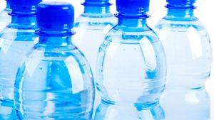 Sticle de apă alcalină