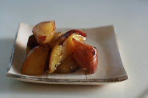 Cartofi dulci la cuptor, gătiți în stil japonez