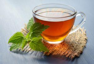 Ceașcă cu ceai verde