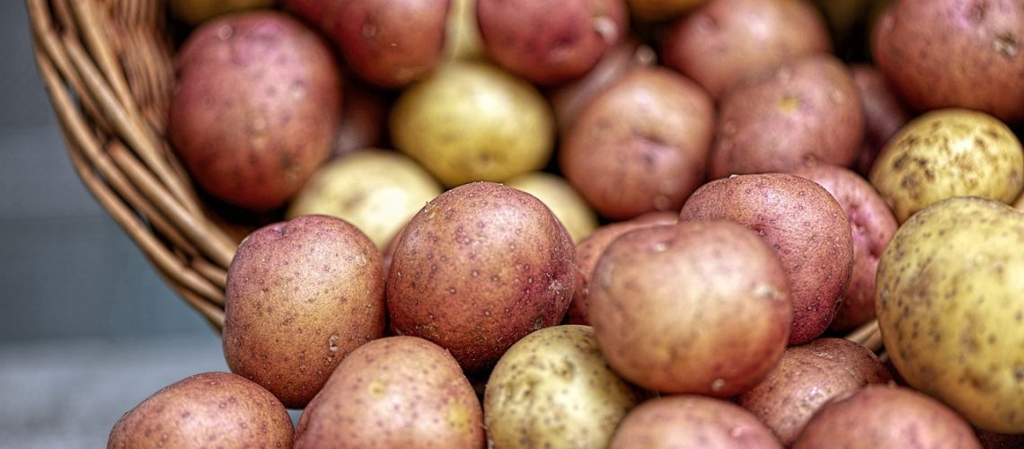 Cartofii - alimente bogate in amidon.